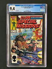 G.I. Joe Special Missions #2 CGC 9.4 (1986)