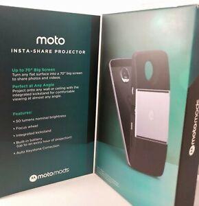 New Motorola Insta-Share Projector Moto Mods Mod for Moto Z phones portable DLP