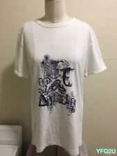 New APC Los Angeles Spring 2007 Sz-0/XS 2-Sided GRAPHIC T-SHIRT Tee NWOT DS