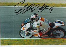 Francesco BAGNAIA Firmato a Mano 7x5 Foto San Carlo team Italia moto 3 MOTOGP 2.