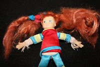 VTG Punky Brewster Plush Stuffed Doll Roller Blades