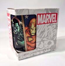 Marvel Coffee Cup Mug Iron Man Captain America Spider-Man Thor Ceramic New