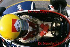 Ayrton Senna Toleman TG183B Brazilian Grand Prix 1984 Photograph 3