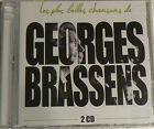 LES PLUS BELLES CHANSONS DE GEORGES BRASSENS (CD x2) BEST OF NEUF SCELLE
