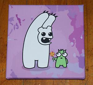 ~Polo Scare - Purple Edition - Graffiti Canvas Print - Urban, Cute, Original art