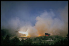 414022 Multiple Launch Rocket System A4 Photo Print