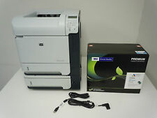CB510A HP LASERJET P4015TN LASER PRINTER & NEW HIGH YIELD COMP CC364X 64X TONER!