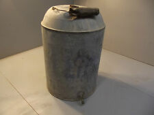 OLD METAL ANTIQUE CAN water wagon oil vintage
