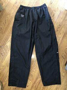 NEW Nike Washington Huskies Mens Black Lined Athletic Pants 3XL