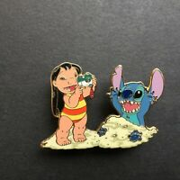 DCA - Lilo & Stitch In the Sand - Mystery / Surprise Pin LE 750 Disney Pin 12815