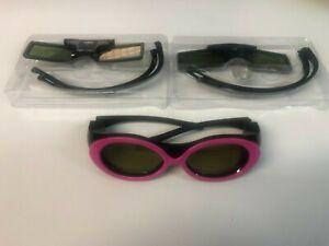 Mixed Job Lot 3D TV Glasses - Samsung *Faulty*