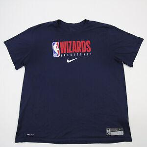 Washington Wizards Nike NBA Authentics Dri-Fit Short Sleeve Shirt Men's Used