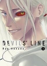 Devils ' Line 3 por Ryoh Hanada Libro de Bolsillo 9781942993391 Nuevo