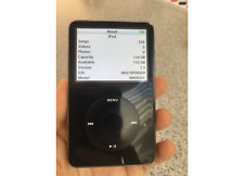iPod with Video (black) upgraded to 128gb SDXC flash memory