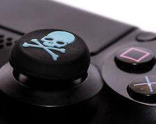 2 x blau Skull Totenkopf Thumbstick Kappen Cap für Sony PS4 PS3 XBOX Controller