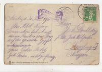 Switzerland 1 Apr 1911 Ambulant Postmark 270b