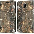 Camo RFID Blocking PU Leather Cover Wallet Credit Card Phone Case For Nokia C2
