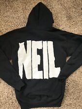 Neil Young Archives Hooded Full Zip Sweatshirt Medium Excellent Promo Tour