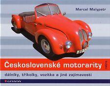 Book - Ceskoslovenske Motorarity - Microcars Trikes Dalniks - Velorex Jawa Avia