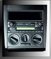 VW Golf Mk4 Rabbit Jetta 3D Black Carbon Fibre effect Radio Console. R32 TDI 04