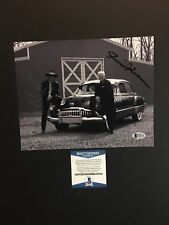 Richard Petty Junior Johnson autographed signed 8x10 photo Beckett BAS COA Cars
