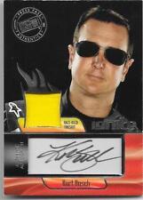 2012 Press Pass Ignite - KURT BUSCH - Race Worn Autograph Fire Suit - NASCAR