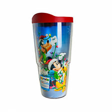 Tervis Disney Holiday Christmas Goofy Mickey Minnie Mouse Donald 24oz Tumbler