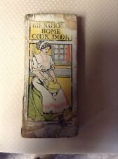 Vintage Cookbook With Hand Written Recipes