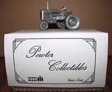 * IH International Farmall B Pewter Tractor 1/43 Spec Cast Toy ZJD15  1990's NEW