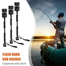 3pcs Adjustable Flash Hard Rod Rocker Swinger 7 Colors Indicator Fishing Tackle