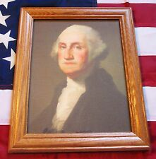 Framed Painting, Portrait of George Washington on Canvas, Rembrandt Peale