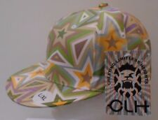 CLH Creating Limitless Heights FITTED CAP GEOMETRIC STARS CAMO SZ L/XL 7 1/2 NWT