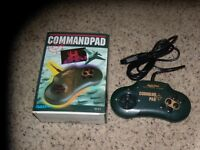 Quickshot Command pad Video game controller with box