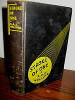 1st Edition Stroke of One R.A.J. Walling First Printing Mystery Crime Classic