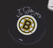 Bob Sweeney Boston Bruins Auto Signed Puck