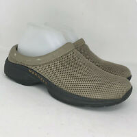 Merrell Womens Primo Breeze 2 J63320 Taupe Mesh Casual Clogs Shoes Slip On Sz 9