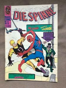 Die Spinne / Heft 18 / Marvel Comics / Williams Verlag / sehr selten