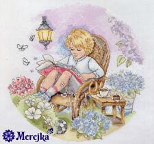 Merejka Cross Stitch  Kit K-18 Fairy Garden