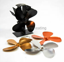 Stove Fan GIFT SET with Interchangable Blades 420cfm for Wood Burning Multi Fuel