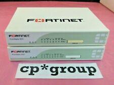 LOT OF 2 FortiNet FortiGate FG-60C 8-Port Gigabit Firewall Security Appliance