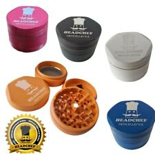 More details for headchef hardcore hexcellence 63mm grinder - 4 parts - official reseller