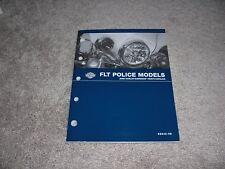2008 Harley-Davidson FLT Police Parts Catalog 99545-08