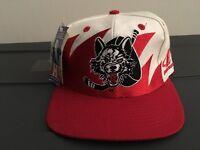 New chicago Wolves Vintage Snapback International Hockey League Shark Tooth Hat