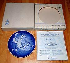 1986 Bing & Grondahl Children'S Day Barnets Dag Plate