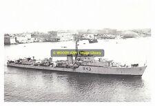 rp10762 - Royal Navy Warship - HMS Comus R43 , built 1946 - photo 6x4