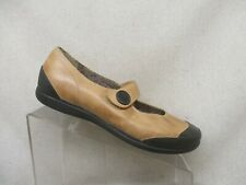 Palladium Tan Leather Fashion Ankle Mary Jane Comfort Shoes Size 10 M