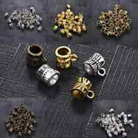 50pcs Clip Bail Beads Findings DIY Beads Jewelry Accessories Pendant Connectors
