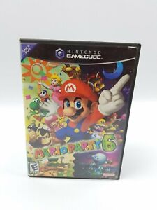 Case Only No Game Mario Party 6 (Nintendo GameCube, 2002) Authentic