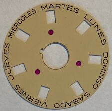 3055 Movement Champagne Yellow - Spanish Day Disc For Rolex President Day-Date