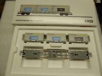 Märklin 47459 Containertragwagen Sgnss SBB Cargo Schüttgutbehältern ,Neuware